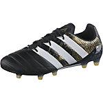 adidas ACE 16.1 FG Leather Fußballschuhe Herren schwarz/gold