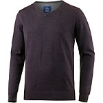 TOM TAILOR V-Pullover Herren bordeaux