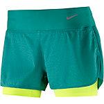 Nike Rival Jaquard Laufshorts Damen petrol