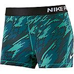 Nike Pro Dry Fit Shorts Damen grün/schwarz