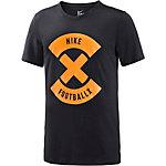 Nike Football X Funktionsshirt Herren schwarz/orange
