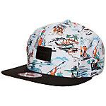 New Era 9FIFTY Offshore Crown Patch Snapback Cap bunt / schwarz