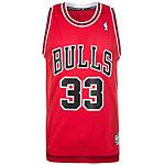 adidas Chicago Bulls Pippen Retired Basketball Trikot Herren rot / weiß / schwarz