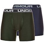 Under Armour HeatGear Original Boxerjock Boxer Herren dunkelblau / oliv