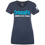 Reebok CrossFit Forging Elite Fitness Funktionsshirt Damen dunkelblau / blau