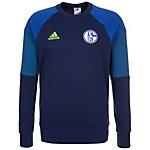 adidas FC Schalke 04 Sweatshirt Herren dunkelblau / blau