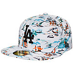 New Era 59FIFTY MLB Offshore Los Angeles Dodgers Cap weiß / bunt