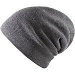 MasterDis Basic Flap Long Beanie charcoal