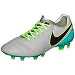 Nike Tiempo Legacy II Fußballschuhe Herren hellgrau / grün