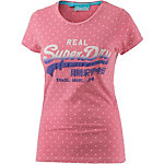 Superdry Printshirt Damen rosa
