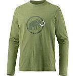 Mammut Logo Langarmshirt Herren grün