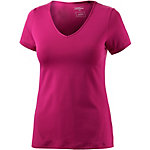 VENICE BEACH Salliamo T-Shirt Damen bordeaux