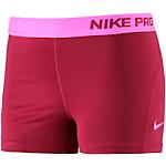Nike Pro Dry Fit 3'' Tights Damen bordeaux/pink