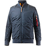 Alpha Industries VF 59 Long Bomberjacke Herren dunkelblau