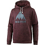 Burton Oak Fleeceshirt Herren weinrot