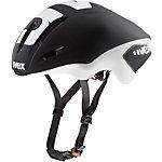 Uvex Helm EDAero Fahrradhelm schwarz/weiß