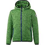 KILLTEC Strickfleece Jungen grün