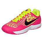 Nike Zoom Cage 2 Tennisschuhe Damen neonpink / neongelb