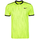 Nike Dry Court Advantage Tennis Polo Herren gelb / schwarz