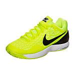 Nike Zoom Cage 2 Tennisschuhe Kinder gelb / schwarz / weiß
