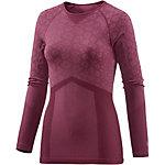 Odlo Blackcomb Evolution warm Skishirt Damen weinrot