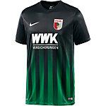 Nike FC Augsburg 16/17 Auswärts Fußballtrikot Herren schwarz