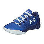 Under Armour BGS ClutchFit Drive 3 Low Basketballschuhe Kinder blau / hellblau