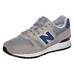 NEW BALANCE WL565-PI-B Sneaker Damen grau / dunkelblau