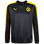 PUMA Borussia Dortmund Cup Sweatshirt Herren schwarz / gelb