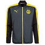 PUMA Borussia Dortmund Cup Trainingsjacke Herren schwarz / gelb