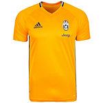 adidas Juventus Turin Fanshirt Herren orange / schwarz