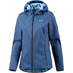 Jack Wolfskin Northern Point Softshelljacke Damen dunkelblau