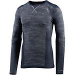 Odlo Blackcomb Evolution warm Skishirt Herren navy/schwarz