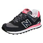 NEW BALANCE WL574-CPL-B Sneaker Damen schwarz / rosa