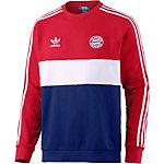 adidas FC Bayern Block Design Sweatshirt Herren rot/weiß/blau