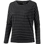 O'NEILL Jack's Base Langarmshirt Damen schwarz/weiß
