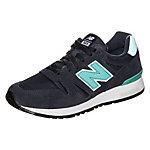 NEW BALANCE WL565-PN-B Sneaker Damen dunkelblau / türkis