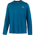 The North Face Reaxion Amp Crew Funktionsshirt Herren blau