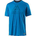 The North Face MA Graphic Reaxion Amp Crew Funktionsshirt Herren blau