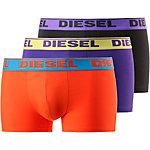 DIESEL Boxer Herren schwarz/orange/blau