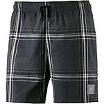 SPEEDO Yarn-Died Check Leisure 16'' Watershort Badeshorts Herren grau/schwarz/weiß