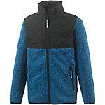 ICEPEAK Strickfleece Jungen blau/schwarz