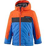 Ziener Skijacke Jungen blau/orange