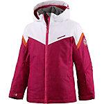 Ziener Skijacke Mädchen pink/weiß