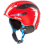 ALPINA SNOW TOUR incl. Earpad Skihelm rot