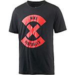 Nike Football X Funktionsshirt Herren schwarz/rot