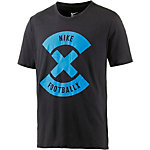 Nike Football X Funktionsshirt Herren schwarz/blau