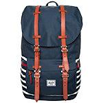 Herschel Little America Daypack blau / weiß