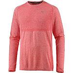 Nike Dri-Fit Knit Laufshirt Herren rot
