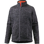 Maier Sports Lucian Strickfleece Herren graphit